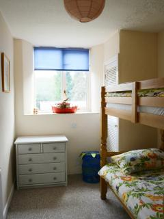 The children's bunk bed room