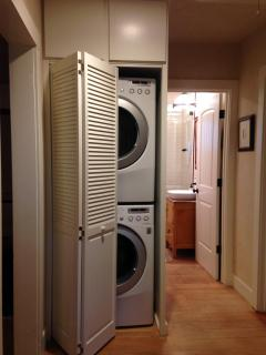 stacking washer and dryer for your convenience