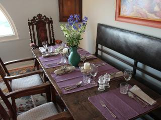 Dine at the Captains Table seats 6-8 guests