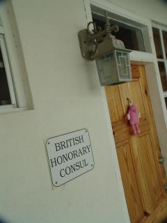 go past the Honorary Consul Office