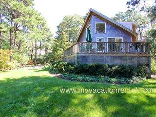 RUTHW - Lagoon Waterview, Central AC,  200 Yards to Private Assoc Lagoon Beach, Swim and Kayak, Oak Bluffs