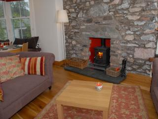 A choice of settees so that you can both relax in front of the fire