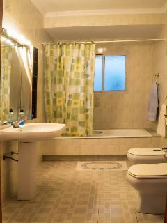 The second 'white' bathroom