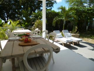 A beach front gem....Just built, Beau Vallon