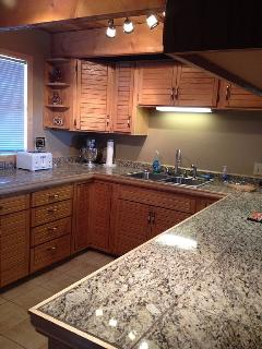Fully Equipped Kitchen, Microwave, Toaster, Coffee Pot, Lots Of Pots And Pans