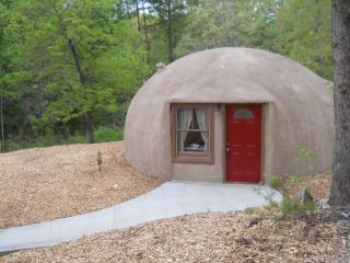 Dome Home nestled in quiet wooded area