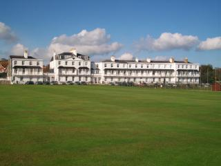 'Fortfield Terrace' over looking the Cricket Pitches and the Sea