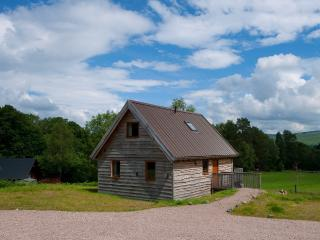 Osprey Log Cabin, with loch views and log burner, Dalavich