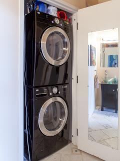 Second bathroom + Laundry