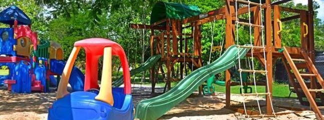 Children play ground in complex