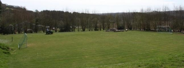 Football pitch for guests use.