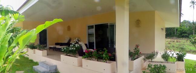 Terrasse Villa 3