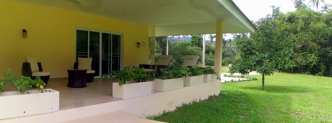 Terrasse Villa 4