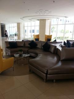 Sun Residences lobby (with free Wi-Fi)