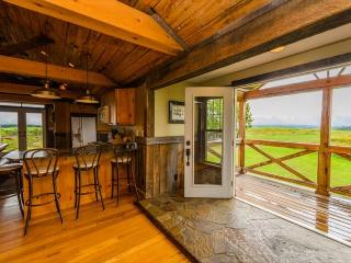 OVR's Granary Lodge! Private 600+ acres overlooking mountains! ONE OF A KIND!