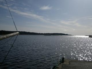 View from Mönsterås harbour