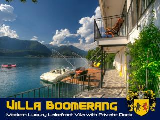 Exquisite waterfront Lake Orta Villa 'Boomerang'