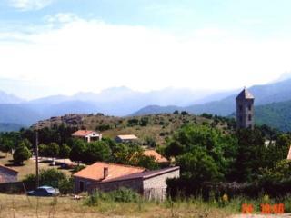 Maison corse  dans village classé, Korsika
