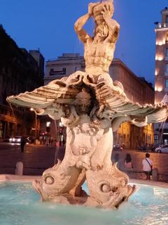 TRITONE FOUNTAIN AT PIAZZA BARBERINI