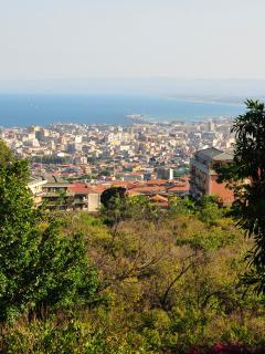 Vista su Catania