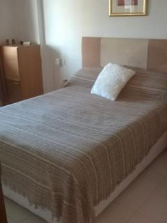 Bedroom showing double bed
