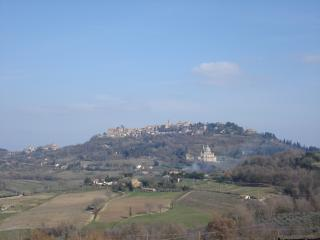 Appartamento villa bifamiliare Montepulciano