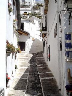 Pampaneira back street 15mins drive from Casa Jazmin.