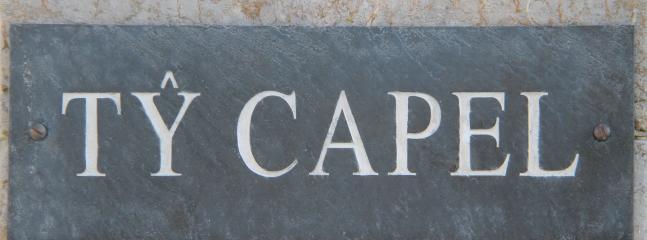 Casa sinal Ty Capel
