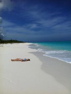Relax on one of the many gorgeous beaches - all by yourself!