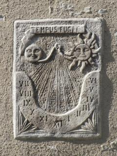 Bas-Relief on Barn's Facade
