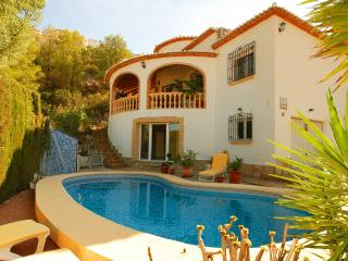 Private Sea View Luxury Villa+sleeps 8+pool+TV/Int, Pedreguer