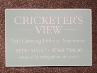 Cricketers View 4star Self Catering Accommodation, Sidmouth