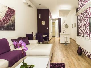 Luxury one bedroom apartment with beautiful view, Budapest