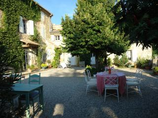 300 year old stone country home in Provence, Pont-de-Barret