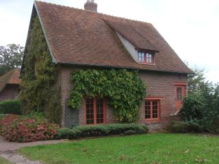 The caretakers cottage at the chateau de Cristal, Neufchatel en Bray