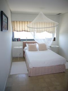 Habitación doble blanca