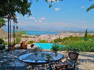 Nafplio Villa with Pool 10 persons + disabled