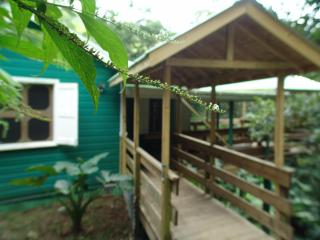 Birdwatchers Rainforest Cottage, Parc national de Morne Trois Pitons