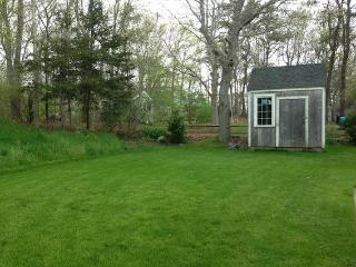 Great back Yard- 37 Jacqueline Circle West Yarmouth Cape Cod New England Vacation Rentals