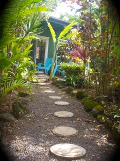 Sweet little path leading to the perfect oasis