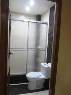 Visitors' bathroom