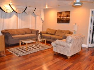 Living Room With Roku TV