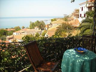 Large balcony panoramic view, Molyvos