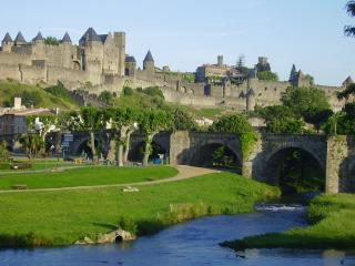 Carcassonne, medieval walled city, 25 mins from Lagrasse