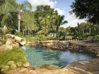 Private Gated Mansion and Activity Park, set on a 62 acre Island! Swimming pool and games room, Clermont