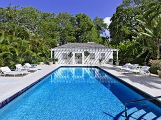 Beautiful 5 bedroom Barbados home, set within gorgeous gardens close to the beach. Private swimming pool, stunning sunset views, Porters
