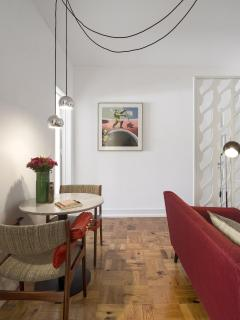 Living Room, Dining Room and Kitchenete