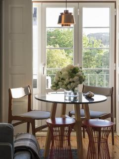 Dining room, Living room and kitchenete