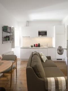 Dining rooom, Living room and Kitchenette