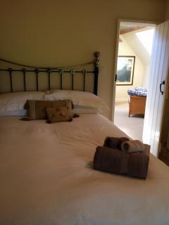The standard double bedroom